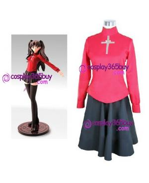 Fate Stay Night Rin Tosaka cosplay costume version 2
