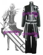 D.Gray-man Yu Kanda cosplay costume puleather made