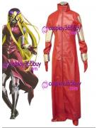 D.Gray-man Jasdero Cosplay Costume puleather made