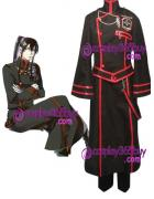 D.Gray-man Kanda Yuu Holloween Cosplay Costume