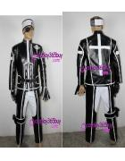 D.Gray-man Lavi Cosplay Costume Version 2 puleather made