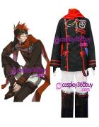 D.Gray-man Lavi Halloween Cosplay Costume version 2