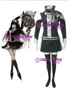 D.Gray-man Lenalee Lee cosplay costume silver puleather made