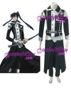 D.Gray-man Yu Kanda cosplay costume version 2