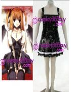 Death Note Amane Misa puleather made Cosplay Costume