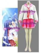 Lucky Star Konata School Uniform winter Cosplay Costume