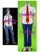 Macross Frontier Alto Saotome Cosplay Costume
