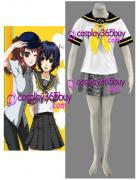 Persona 4 Yasogami High Girls Summer Cosplay Costume