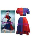 Touhou Project Eirin Cosplay Costume