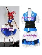 Touhou Project Komachi Cosplay Costume