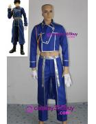 FullMetal Alchemist Roy Mustang Military cosplay costume wit...