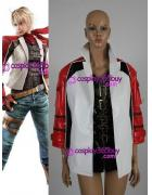 Tekken 6 Leo jacket and coat and scarf Cosplay Costume