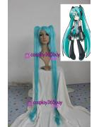 Vocaloid Hatsune Miku cosplay wig green color 47