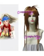 Final Fantasy X Rikku Cosplay Wig long wig
