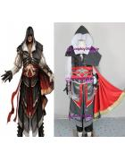 Assassin's Creed II Ezio Black version Cosplay Costume with ...