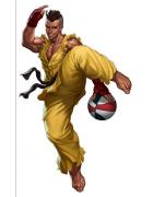 Street fighter Sean Matsuda cosplay costume