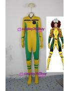X-men Rogue cosplay costume one-piece style jump suit style