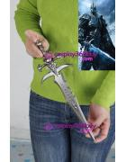 WOW World of warcraft Lich King Arthas Frostmourne sword met...