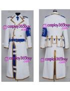 Dolls cosplay white military commission bags and belts and b...