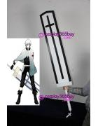 D.Gray-Man Allen Walker Sword cosplay prop wood make
